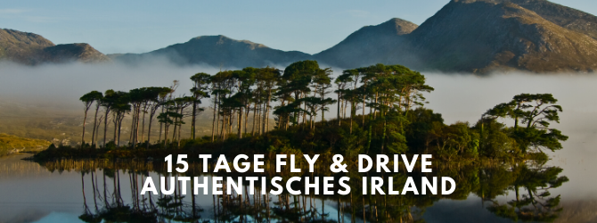 15 Tage Fly & Drive Authentisches Irland, St. Patrick's Day Aktion, Echt Irland Reisen