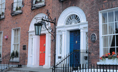 Dublin Doors, Georgian Door, Echt Irland