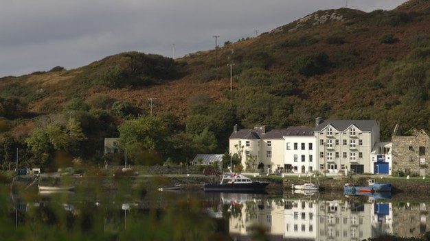Echt Irland, Clifden, The Quay House, Irland Reisen