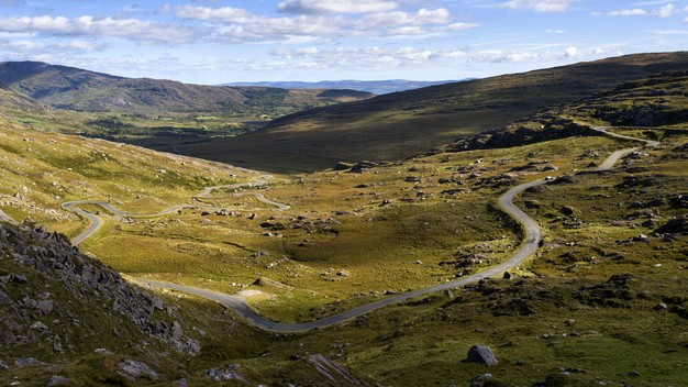 Echt Irland, the Healy Pass, Ring of Beara, Urlaub in Irland