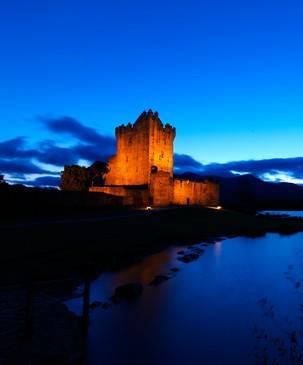 Echt Irland, Killarney, Ross Castle, Irland Reisen