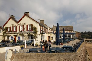 Echt Irland, Dunmore East, The Strand Inn, Irland Urlaub