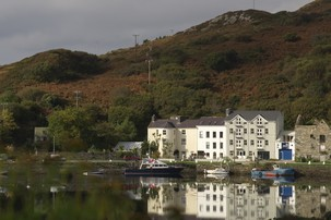 Echt Irland, Clifden, The Quay House, Irland Reisen