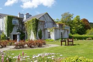 Echt Ierland, Gregans Castle Hotel, Ballyvaughan, Irland Urlaub