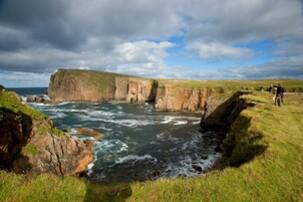 Echt Irland, Donegal, Tory Island, Irland Urlaub