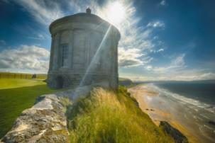 Noord-Ierland, Mussenden Temple, Irland Rundreise