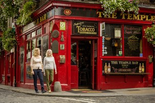 Echt Ierland, Dublin, Temple Bar , Irland Fly and Drive