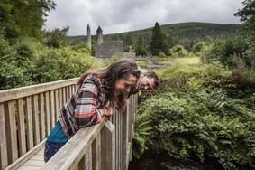 Echt Irland, Glendalough, Wicklow Mountains, Irland Urlaub