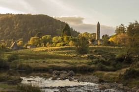 Echt Ierland, Wicklow Mountains, Glendalough, Irland Rundreise