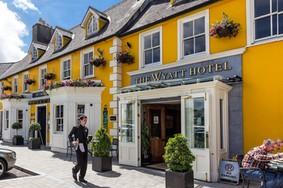 Echt Irland, Westport, the Wyatt Hotel, Irland reisen