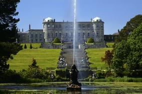 Echt Irland, Wicklow Mountains, Powerscourt Gardens, Urlaub in Irland