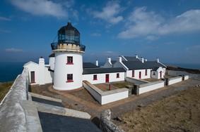 Echt Ierland, Clare Island, Clare Island Lighthouse, Irland Urlaub