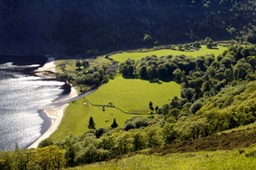 Echt Irland, Wicklow Mountains, Urlaub in Irland