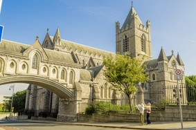 Echt Irland, Christ Church Cathedral, Dublin, Irland Fly and Drive