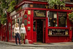 Echt Ierland, Dublin, Temple Bar , Irland Fly and Drive