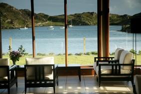 Echt Irland, Inishbofin Island, Inishbofin House Hotel, Irland Urlaub